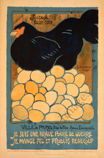 Vintage french food poster repro 24x36 ebay